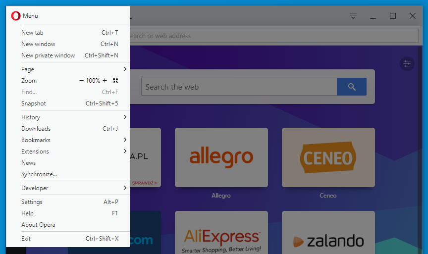 browser window opera help